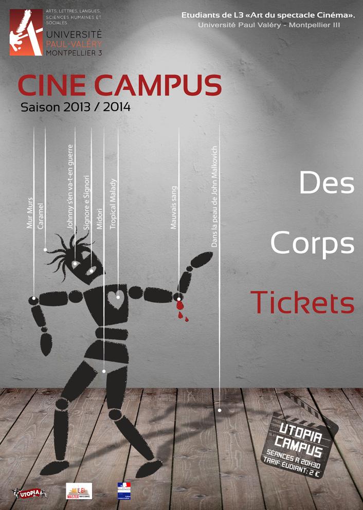 Programme Ciné Campus 2013-2014